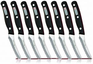 Miracle Blade World Class Series Steak Knives Serrated (8 Steak Knives)